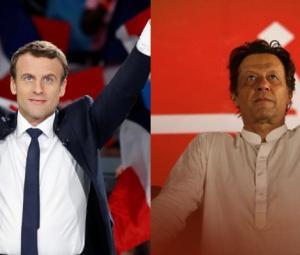 France's Macron phones PM Imran, discusses regional situation
