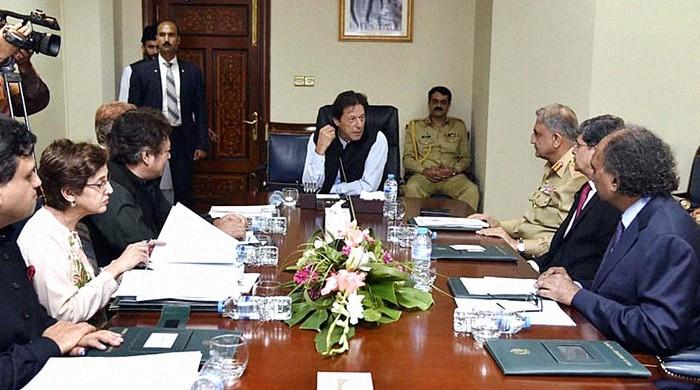 PM Khan meets Qureshi, COAS, DG ISI, talks two-way ties with ally nations