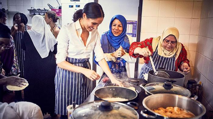 Meghan Markle backs cookbook to help project set up after deadly London fire
