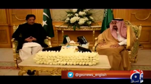 PM Khan calls on King Salman, discusses trade and investment