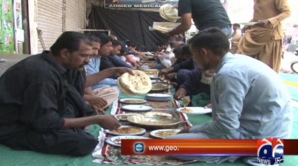 The tradition of setting up sabeels in Muharram