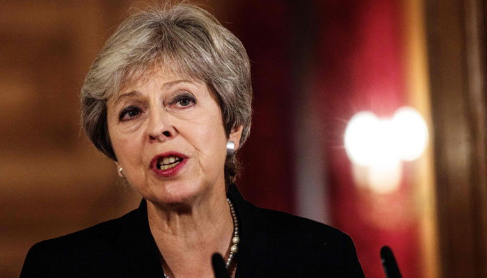 PM May says Britain will hold nerve in Brexit talks: Sunday Express