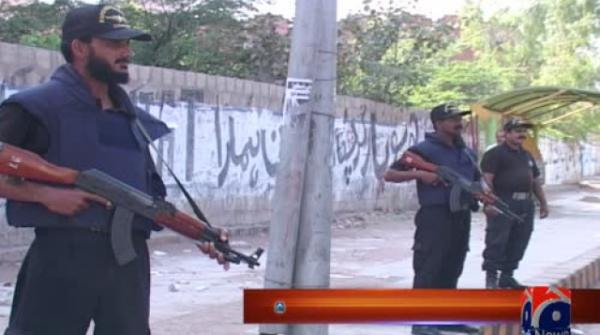 Personnel in Karachi to be given pistols in place of automatic weapons