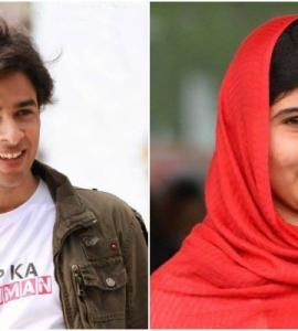 Shehzad Roy enjoys a game of chess with Malala, calls her a 'quick learner'