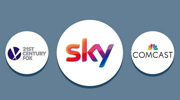 Sky shares soar on Comcast takeover victory