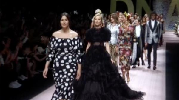 Milan fashion week hits the floor