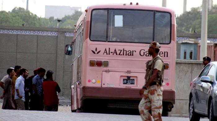 Terrorist involved in Safoora bus attack arrested in Dadu
