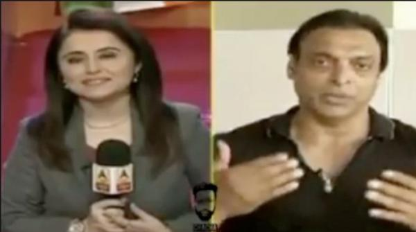Shoaib Akhtar sets Indian anchor straight over unprofessional behaviour