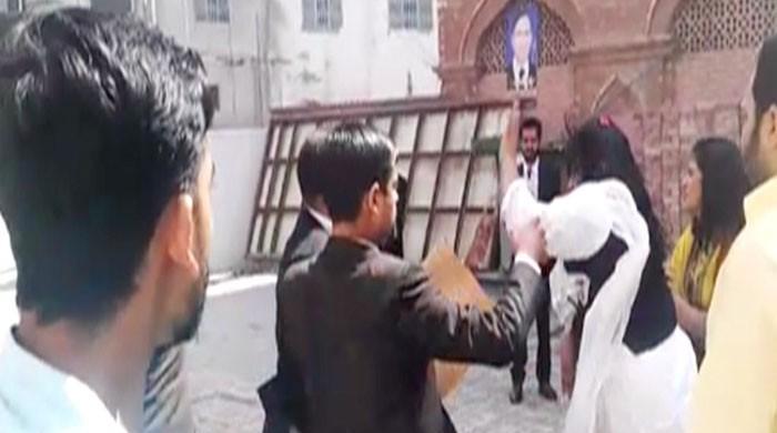 Female lawyer thrashes colleague for 'slander'