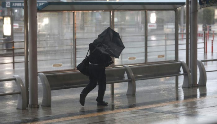 Powerful typhoon bears down on flood-battered Japan