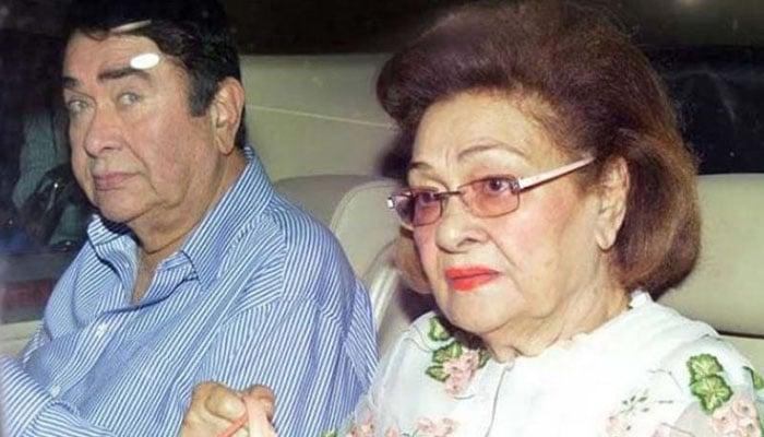 Raj Kapoor's wife Krishna dies