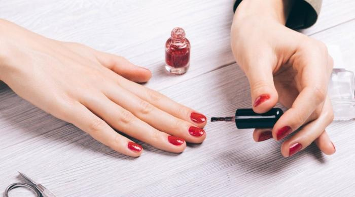 Nail polishes often claim falsely to be toxin-free