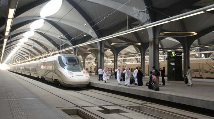 Saudi Arabia opens high-speed railway to public