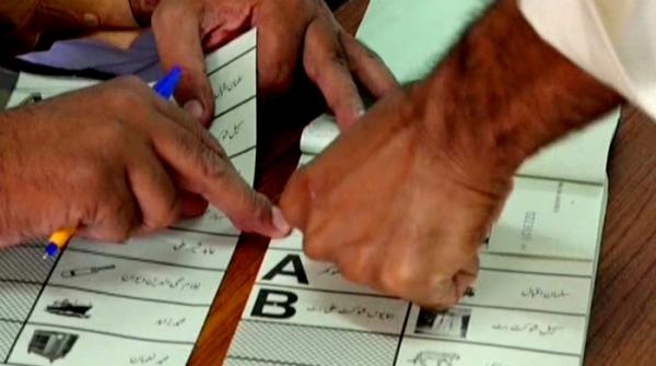 Pakistan votes in by-polls 2018