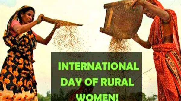 International Day of Rural Women being observed today
