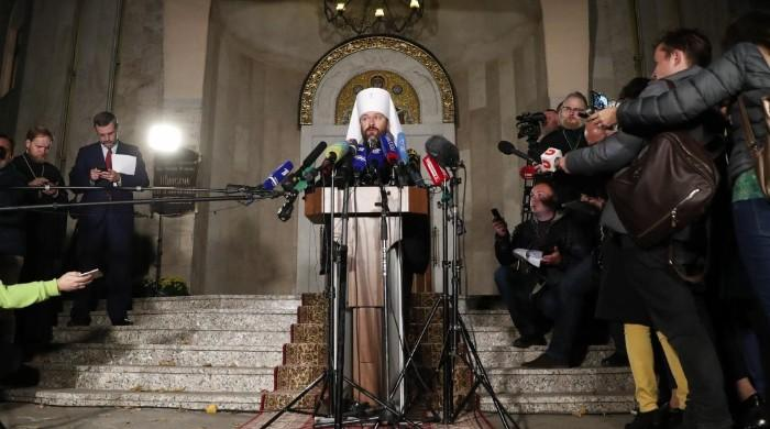 Russian Orthodox Church breaks with Constantinople in row over Ukraine