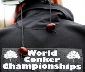 She came, she saw, she conquered, British woman claims conker crown
