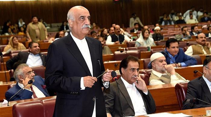 Nothing wrong with taking U-turn over approaching IMF: Khursheed Shah