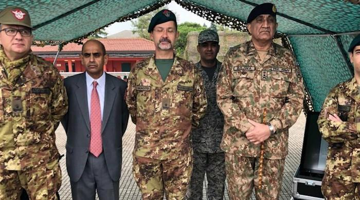 COAS talks bilateral defence, security cooperation in Italy visit