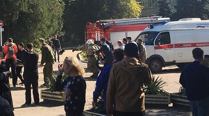 At least 10 killed in blast at Crimea college: official