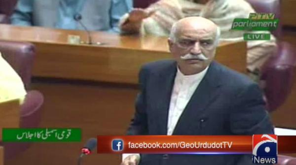 Nothing wrong with taking U-turn over approaching IMF: Khursheed Shah