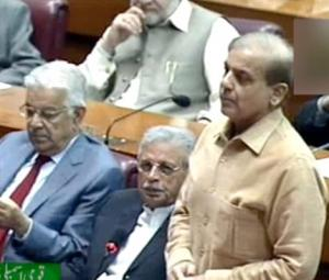 Shahbaz says there is an 'unholy' alliance between NAB and PTI