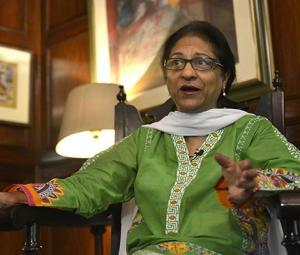 Asma Jahangir, in humour and heroism
