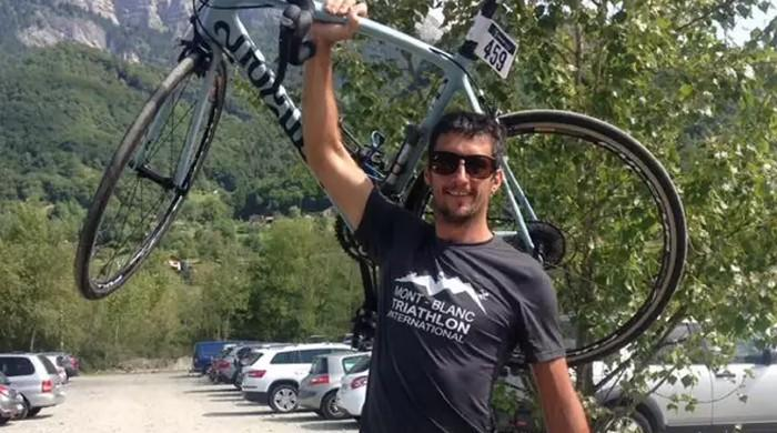 British cyclist killed in Alps was 'a monster', mother says