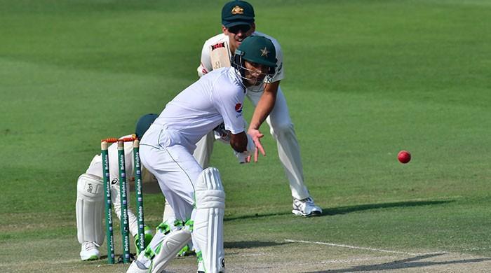 Pakistan lose Azhar and Haris, surpass 200 runs against Australia