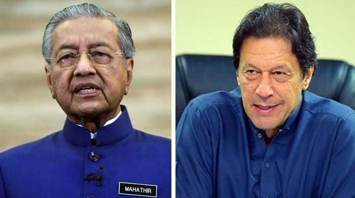 PM Imran telephones Malaysian counterpart, invites him to Pakistan