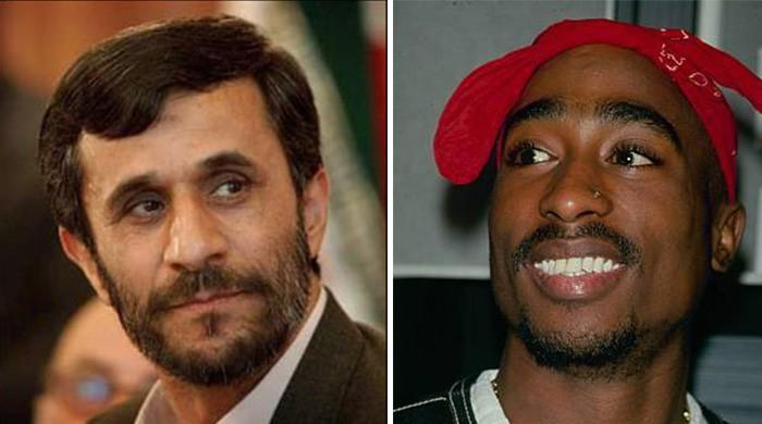 Iran's former president is tweeting Tupac lyrics