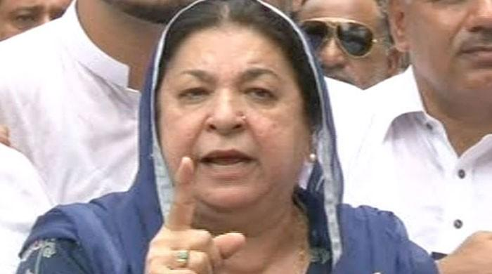 Didn't give orders to stop women without scarves from entering Punjab Secretariat: Yasmin Rashid
