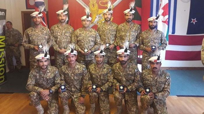 Pak Army team wins gold in Cambrian Patrol exercise in UK