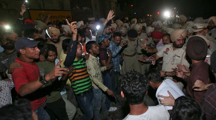 At least 50 dead in India train disaster: police