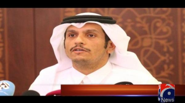 Qatari FM to arrive in Pakistan today