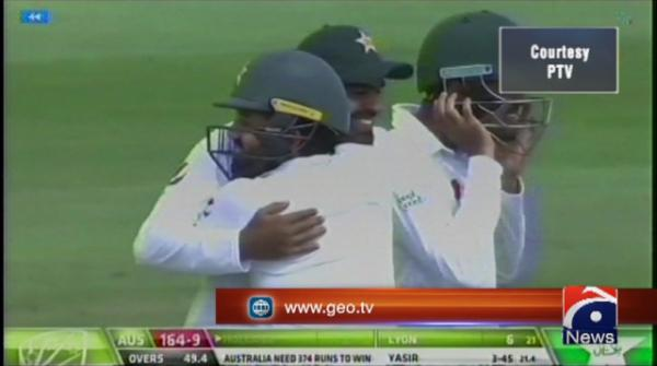 Pakistan beat Australia to win Test series