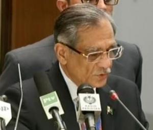 CJP warns against depleting water resources of Pakistan