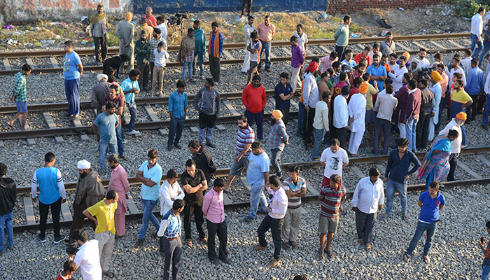 The Aftermath of the Deadly Amritsar Train Accident