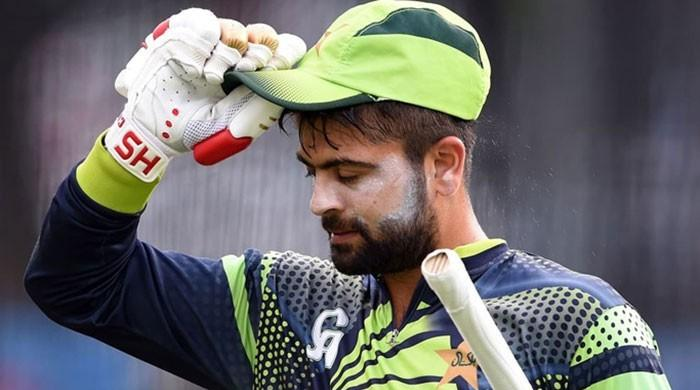 Ahmed Shehzad issued notice for playing cricket during ineligibility period