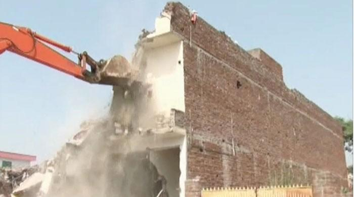 3,757 kanals of land retrieved during anti-encroachment drive in Lahore: report