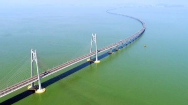 World's longest sea crossing bridge connecting Hong Kong-Zhuhai-Macau completes