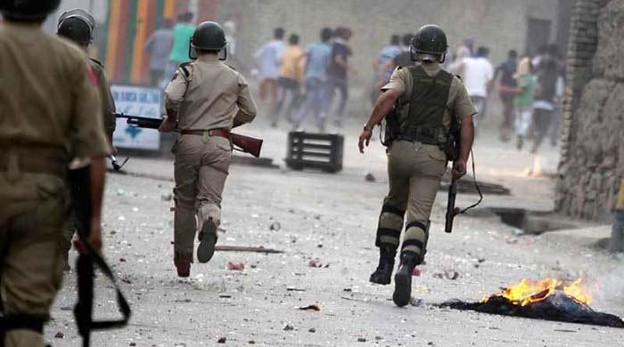 Indian troops martyr eight youth in IoK's Kulgam district