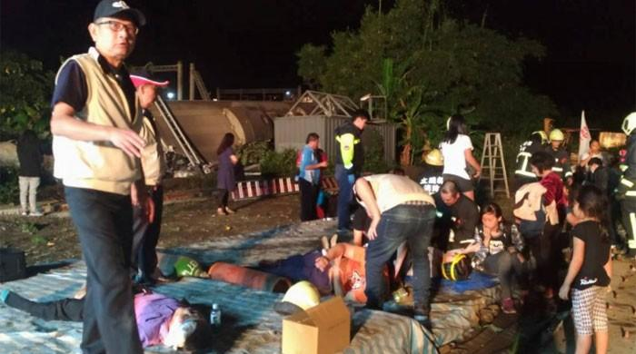Taiwan train crash kills at least 18, injures 160