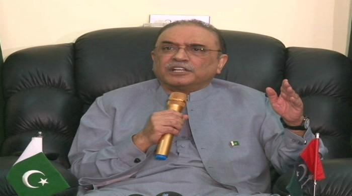 Political parties should bring joint resolution against govt: Zardari