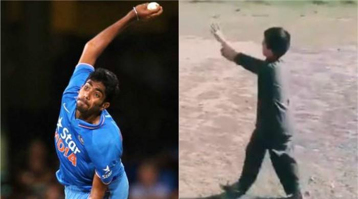 Pakistani kid brings back childhood memories for India's Bumrah