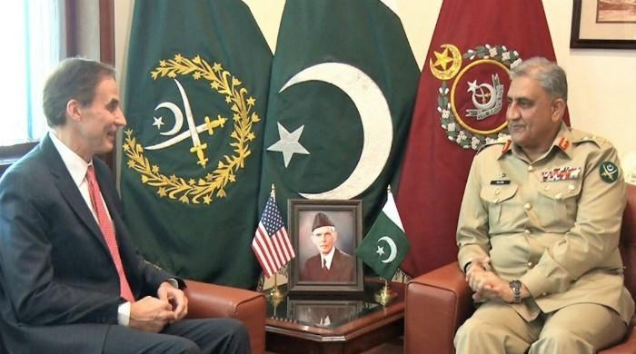 COAS, US ambassador discuss bilateral issues in meeting: ISPR
