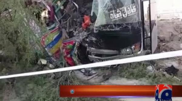 Death toll in DG Khan bus collision rises to 19