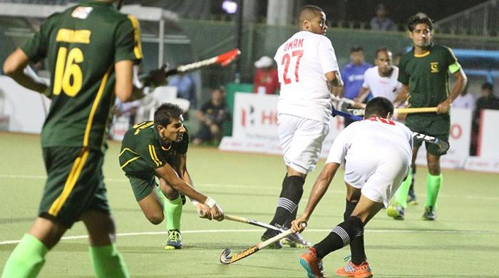 Pakistan thrash Oman 8-1 in Asian Hockey Champions Trophy