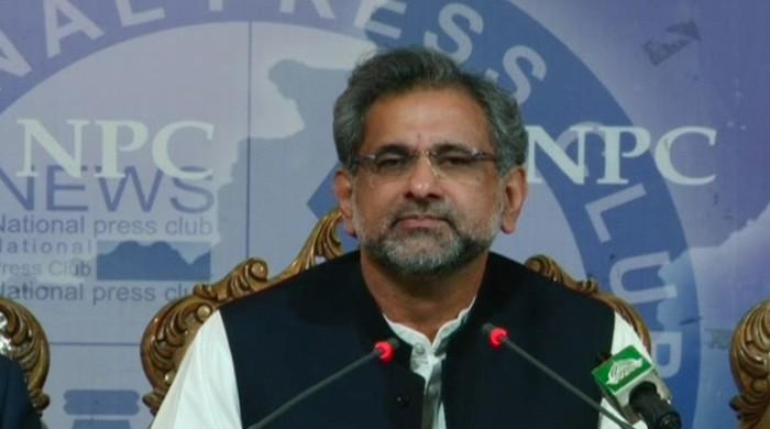 Ex-PM Abbasi dismisses allegations of irregularities in setting up of power plants