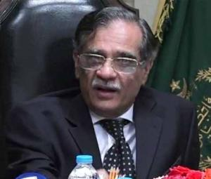 Pakistan drying up, yet no govt representative attended water conference: CJP